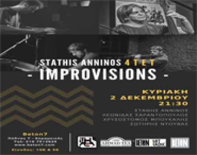 Stathis Anninos 4 t e t  -IMPROVISIONS-